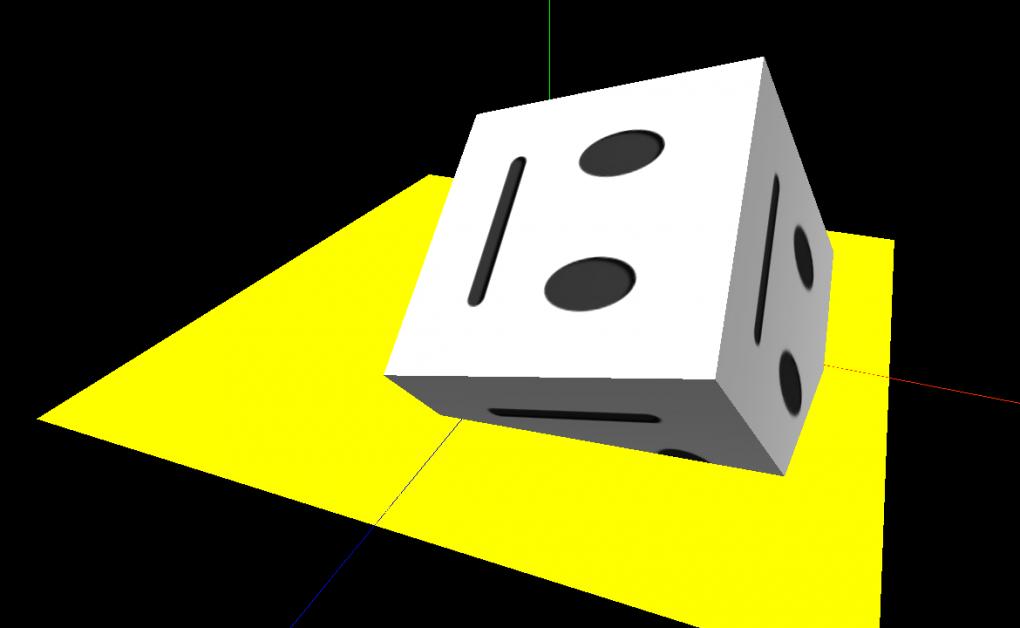 Face Cube - three.js/WebGL