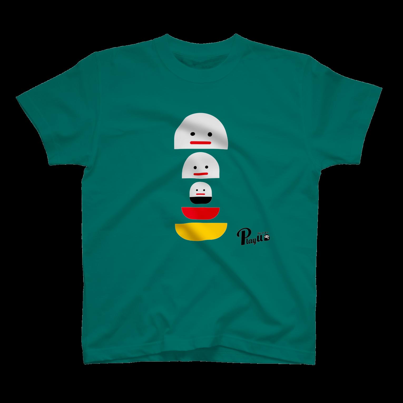 カプセルズ Tシャツ アップルグリーン