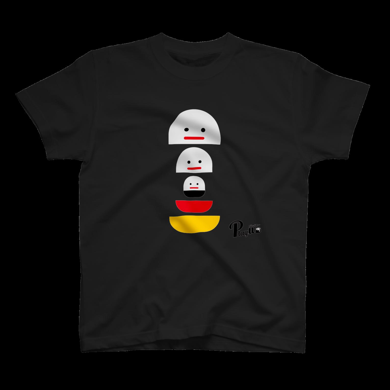 カプセルズ Tシャツ ブラック