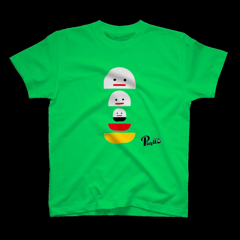 カプセルズ Tシャツ ブライトグリーン