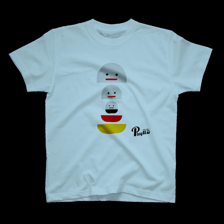 カプセルズ Tシャツ ライトブルー