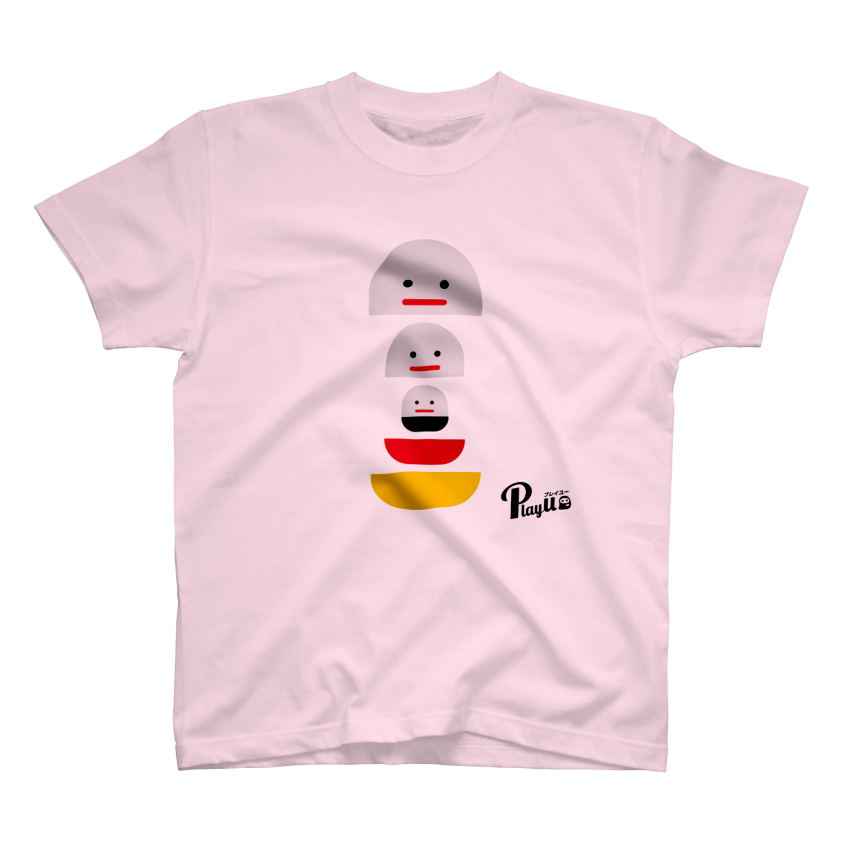 カプセルズ Tシャツ ライトピンク