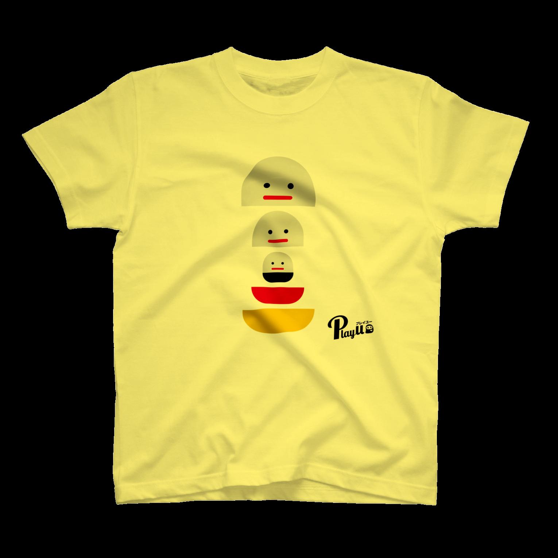 カプセルズ Tシャツ ライトイエロー