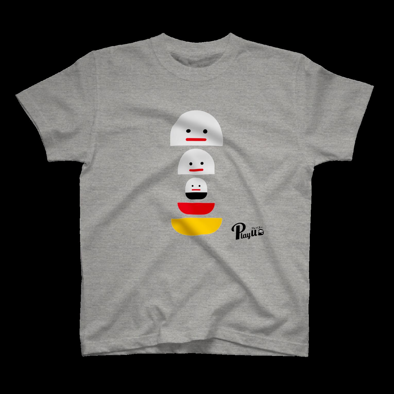 カプセルズ Tシャツ ミックスグレー