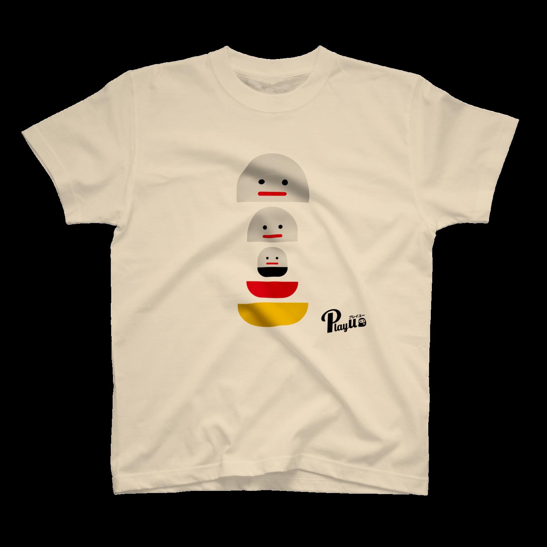 カプセルズ Tシャツ ナチュラル
