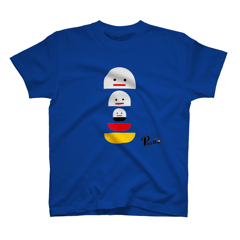 カプセルズ Tシャツ ロイヤルブルー