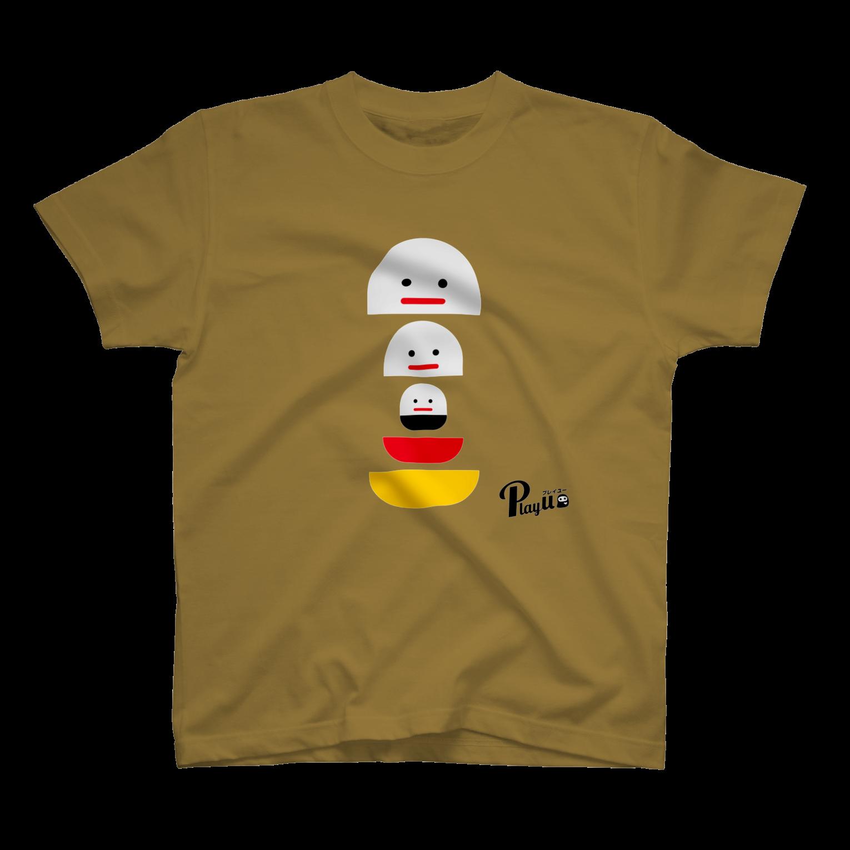 カプセルズ Tシャツ サンドカーキー
