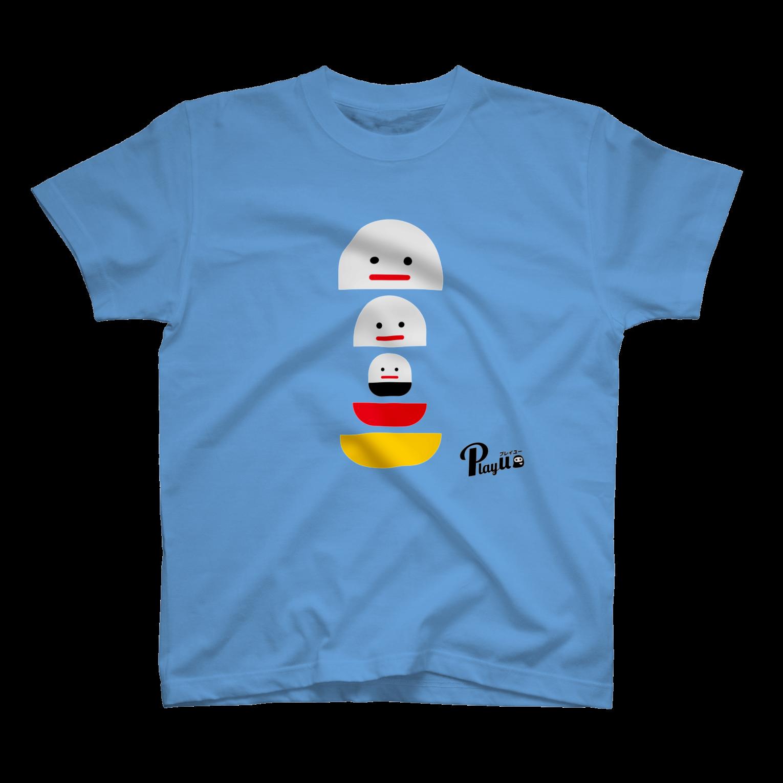 カプセルズ Tシャツ サックス