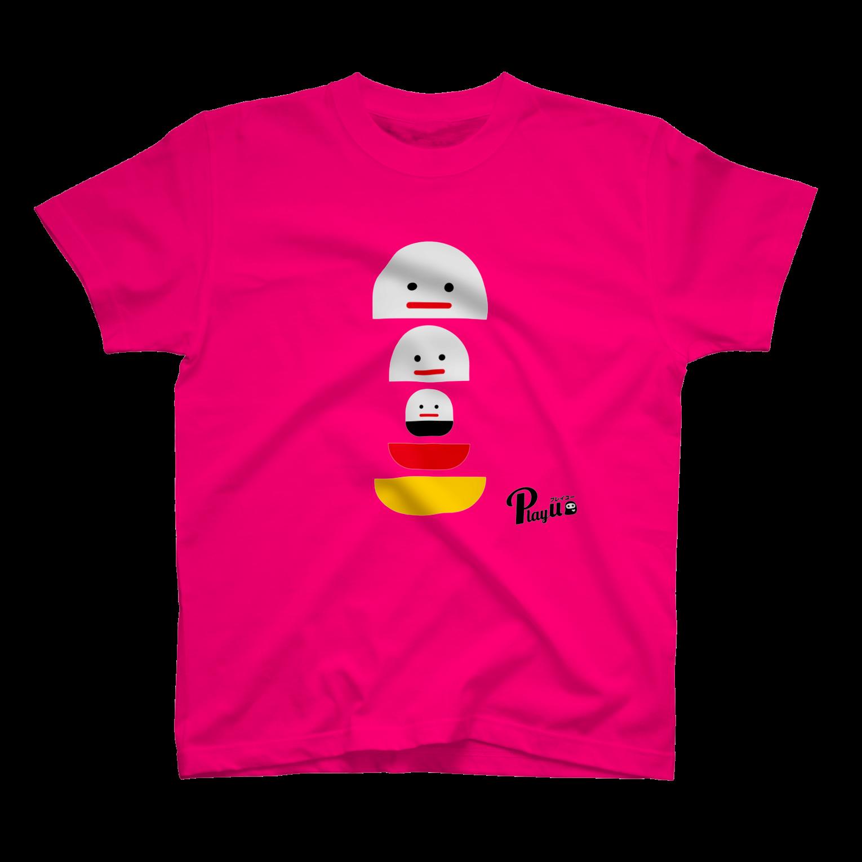 カプセルズ Tシャツ トロピカルピンク