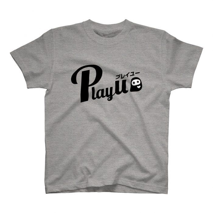 PlayU ロゴ グラフィックTシャツ