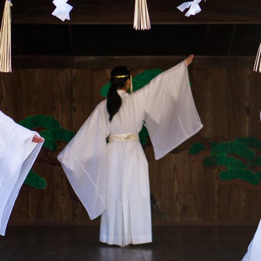 阿智神社 宗像三女神 三女神の舞 個人的な今年の抱負