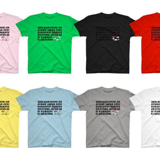 AEDI KURASHIKI BOKKEE OKAYAMA JAPAN グラフィックTシャツ