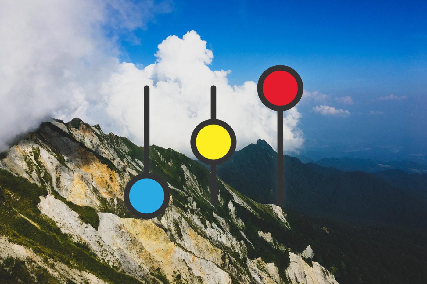 ホームページ制作のSEO・デザイン・内容と構成を考える 写真は鳥取の大山頂上からの風景