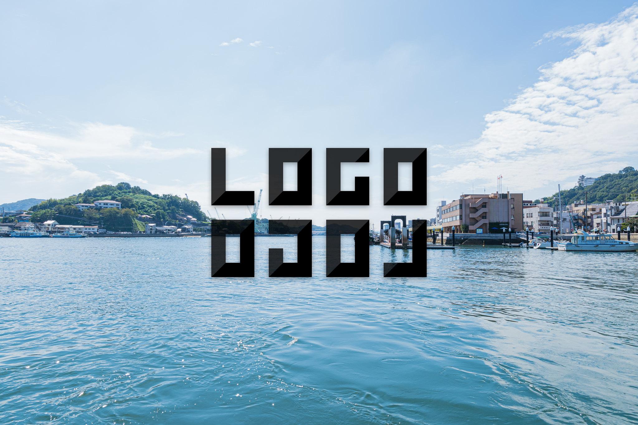 LOGLOGO「ロゴロゴ」用ビジュアル 広島県尾道市の尾道水道