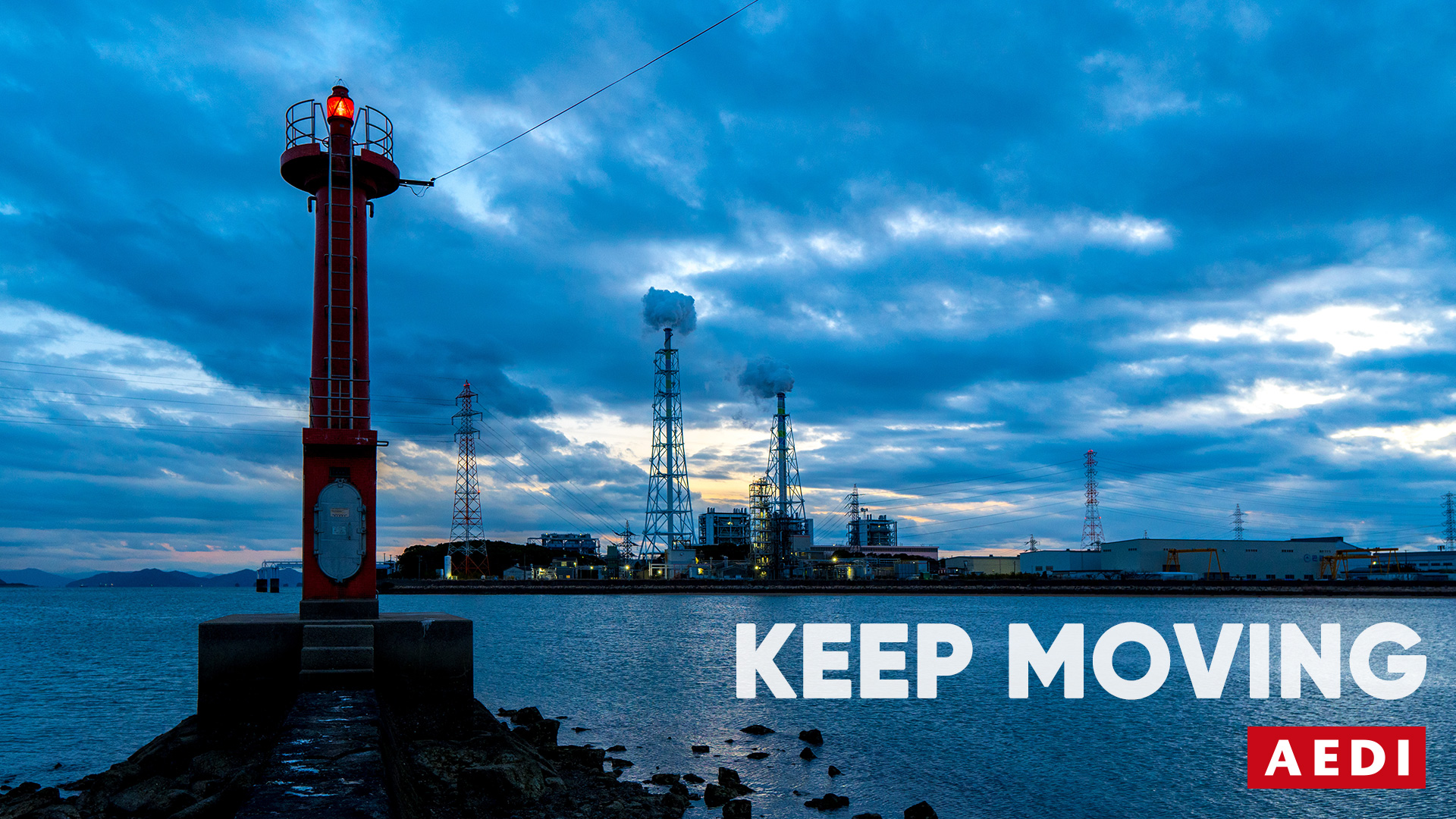 Keep Moving - We are an Okayama based web and graphic design company, entered our 13 term