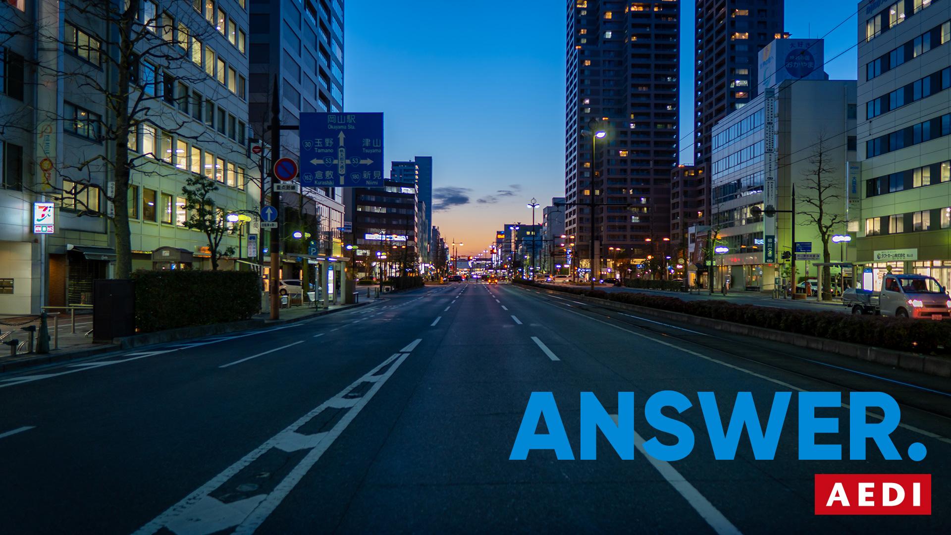 ANSWER. 岡山県岡山市 デザインの答えを見つける。