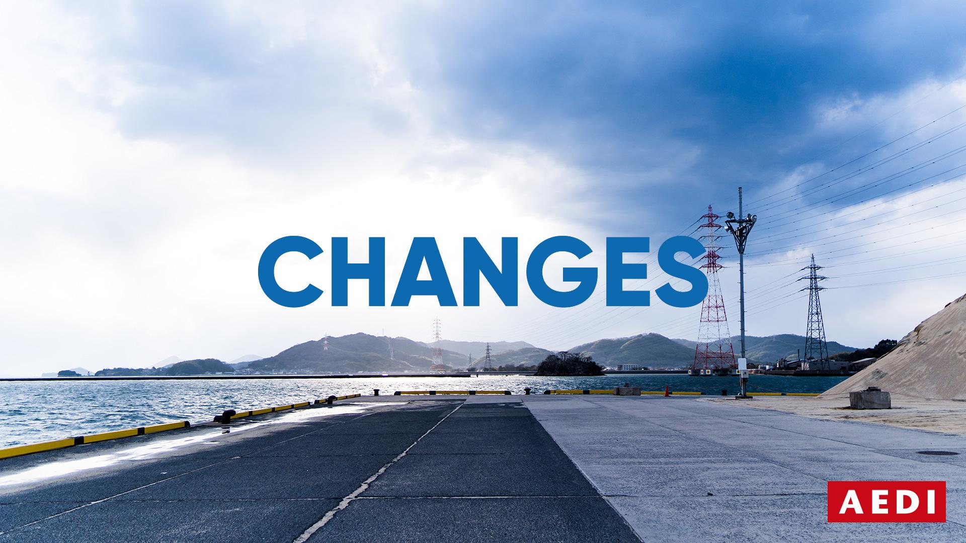 CHANGES(水島港)- 岡山 倉敷のホームページ制作会社・デザイン会社 AEDIからのご提案: 今こそもっとWeb、ホームページを活用していきましょう!